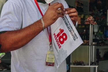 Foto: AÇÃO VISA FACILITAR A FISCALIZAÇÃO POR PARTE DA EQUIPE DE RONDA DO COMBATE AO COVID-19