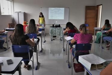 Foto: Evento ocorreu na Escola Dona Júlia