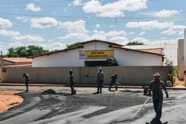 Foto: OUTRA COMUNIDADES TAMBÉM RECEBERÃO PAVIMENTAÇÃO